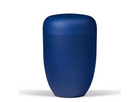 Blå bestle urne