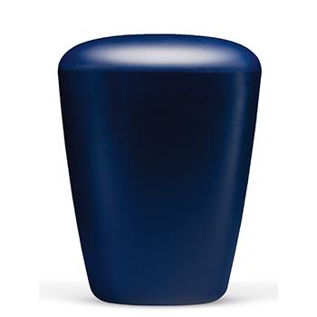 Blå heim urne